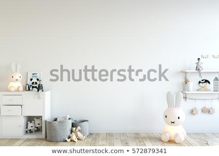 Children room modern interior with toys Stock photo © jossdiim