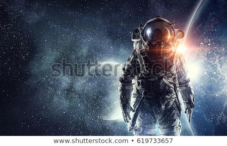ракета · космический · корабль · галактики · вектора - Сток-фото © studiostoks