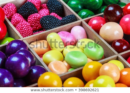 Assortment of chewing gums and candies Stock photo © dariazu