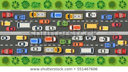 Сток-фото: город · движения · Top · мнение · вектора · автомобилей