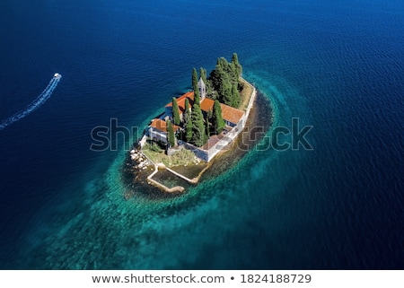 George Island in Perast Stock photo © Givaga