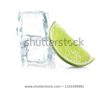 Ice with Lime Wedges Stock photo © prill