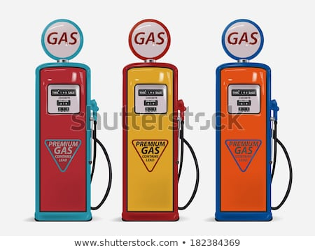 Old Vintage Gas Pump Stock photo © pictureguy