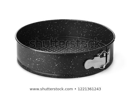 Stock photo: cake mold isolated