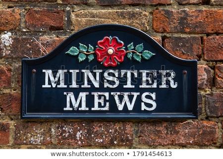 Sign For West Minster Foto d'archivio © chrisdorney