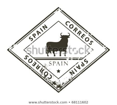 Spanish post stamp Stock photo © Taigi