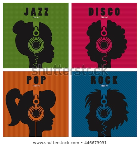 Music genre in text graphics  stock photo © dacasdo