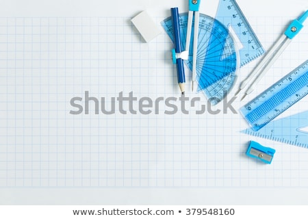 Compasses Pencil Ruler Photo stock © Kenishirotie