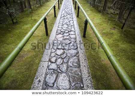 Path to the Koto-in, the sub-temple of Daitoku-ji Stock photo © photohome