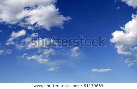 blue perfect sky white clouds on sunny daytime Stock photo © lunamarina