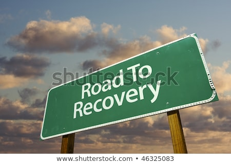 Recession or Recovery. Concept of Choice. Stock photo © tashatuvango