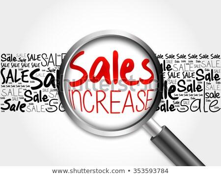 ventes · croissance · graphique · icône - photo stock © tashatuvango