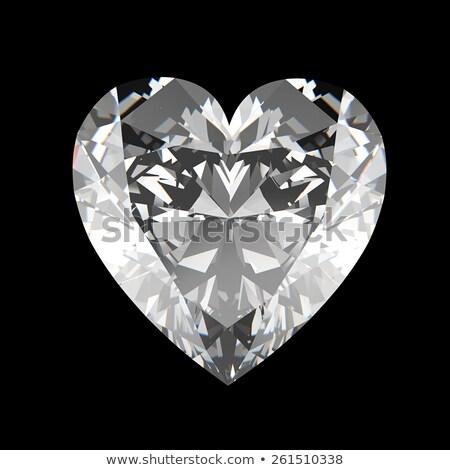 Heart shaped gems. Stock photo © timurock