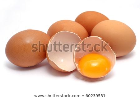 3  新鮮な 卵 水平な 1 白 ストックフォト © silkenphotography