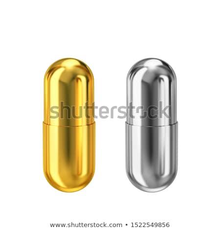 vermelho · azul · pílula · escolha · dedos - foto stock © tiero