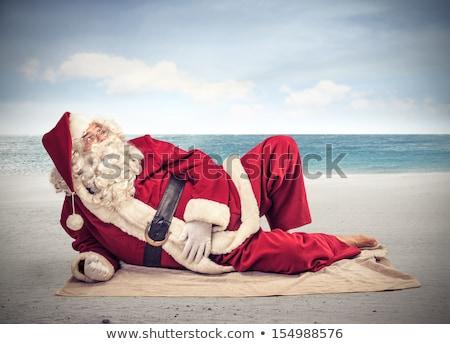 Relaxing Santa Claus Stock photo © Novic