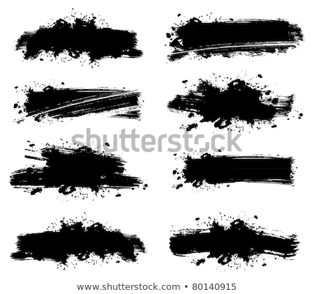 Grunge blot banner. Vector illustration for designers Stock photo © leonido