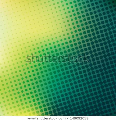 Zielone czarny półtonów streszczenie wydruku wzór Zdjęcia stock © aliaksandra