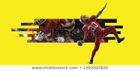 Football collage. Stock photo © fantazista