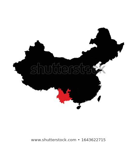 Map of People's Republic of China - Yunnan province Stock photo © Istanbul2009
