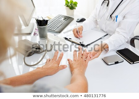 Rheumatoid Arthritis Diagnosis. Medical Concept. Stock photo © tashatuvango