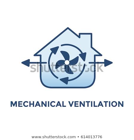 Home Circular Green Vector Web Button Icon Stock photo © rizwanali3d
