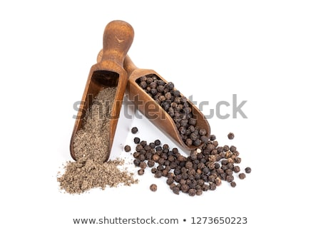 Pile of Organic White Pepper (Piper nigrum) Stock photo © ziprashantzi
