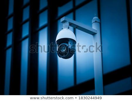 セキュリティ サーベイランス カメラ 壁 ストックフォト © stevanovicigor