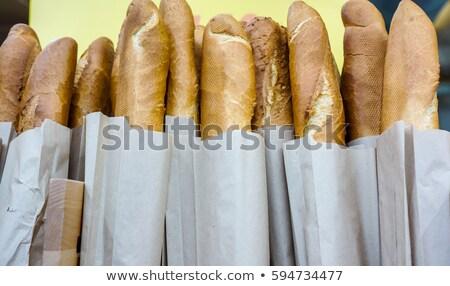 商业照片 / 矢量图: 许多 · 袋 · 面包 · 木 · 货架 · 插图 / m