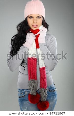 Fashion style photo of an alluring woman Stock photo © konradbak