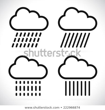 örnek · kelime · bulutlar · işsiz · vektör · görüntü - stok fotoğraf © bluering