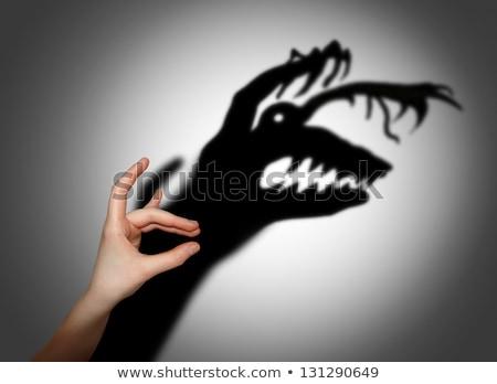 oscuridad · enfermedad · salud · insalubre · humanos · fumador - foto stock © fisher