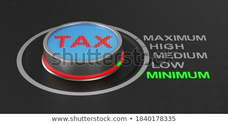 Earnings Calculation Keypad. 3D Illustration. Stock photo © tashatuvango