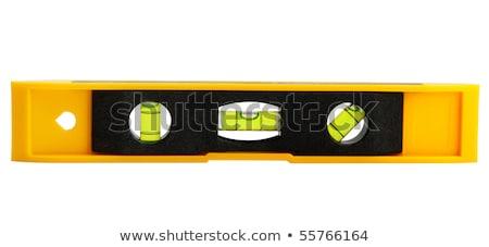 amarelo · edifício · nível · isolado · branco · vidro - foto stock © restyler