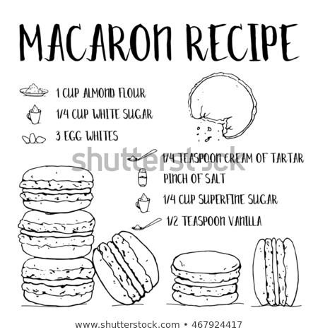 Menthe blanche isolé réaliste illustration cuisine Photo stock © ConceptCafe