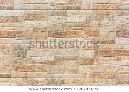 old ancient wall of sandstone Stock photo © Mikko