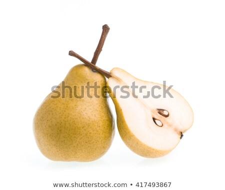 Giallo pera bianco frutta sementi Foto d'archivio © Digifoodstock