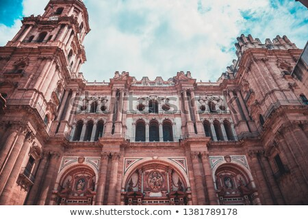 The Church of the Holy Martyrs in Malaga Stock photo © benkrut