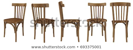 old wooden chair stock photo © inxti