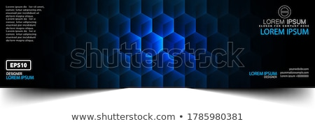 Colorful net style figure Stock photo © Blue_daemon