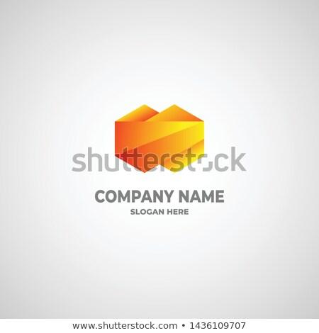 会社 名前 ロゴタイプ 孤立した ベクトル ストックフォト © robuart