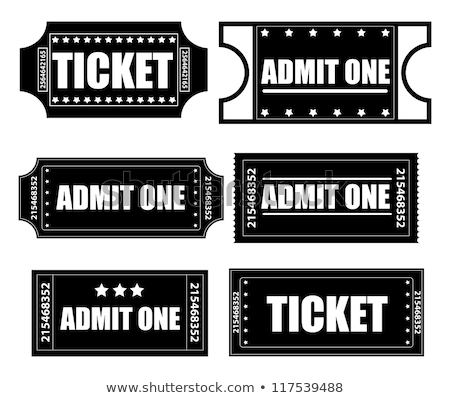 Cinema Tickets Admission Entrance and Frame Vector Stock photo © robuart