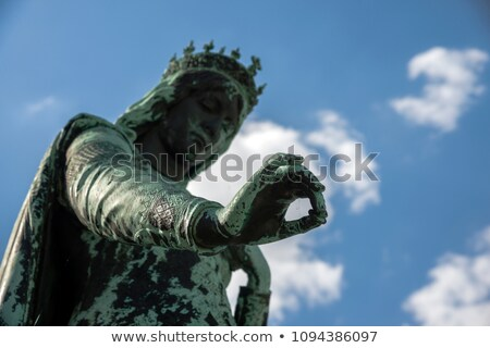 фонтан Германия квадратный путешествия скульптуры города Сток-фото © borisb17