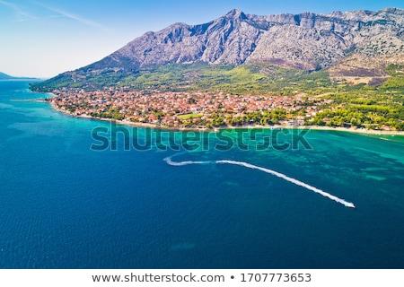 Playa ciudad península vista meridional región Foto stock © xbrchx