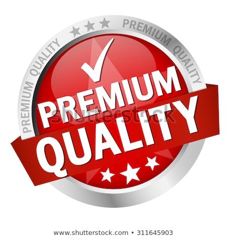 Garanderen premie kwaliteit geïsoleerd gunning koninklijk Stockfoto © robuart