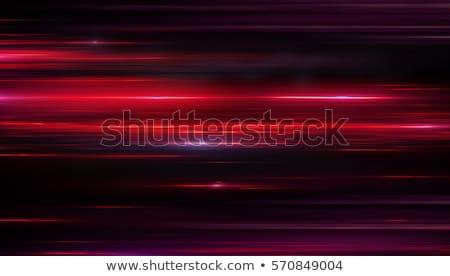 Dinamikus digitális részecskék izzó fények absztrakt Stock fotó © SArts