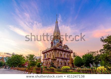 Tempio phuket Thailandia estate giorno costruzione Foto d'archivio © bloodua
