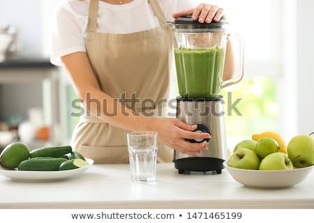 材料 緑 スムージー ブレンダー 料理 ストックフォト © Illia