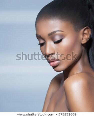 シック 美 肖像 女性 化粧 ストックフォト © Anneleven