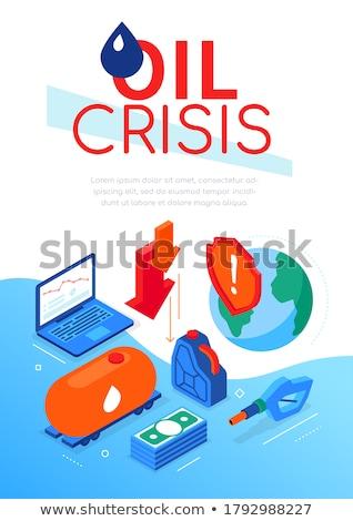 世界 危機 現代 カラフル アイソメトリック ウェブ ストックフォト © Decorwithme